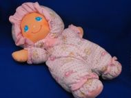 Little Darlins XL Pink White ABC 123 Animal Print Doll
