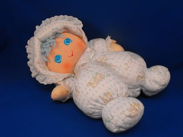 Well Made Toy Sweetie Pie Blue Hair ABC 123 Animal Print Doll