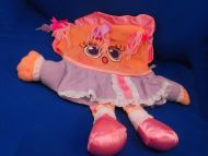 1985 Pillow People Naughty NICE BABY Pink Lavender 2 Sided Doll