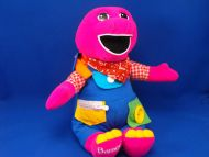 Playskool 1997 no 29857 Teach Me Dress Me Barney