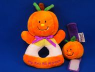 Prestige Orange Cream Pumpkin My First Halloween Rattle