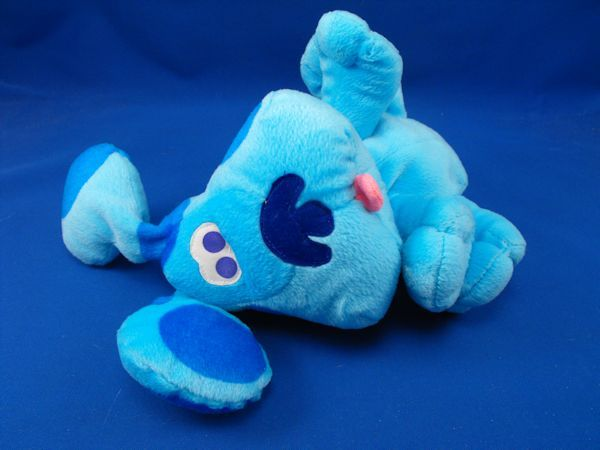 Fisher Price Small Plush Blues Clues Velour Puppy Dog Hand Puppet