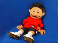 Full Body XL Puppet Ministry Brunette Boy Complete Outfit