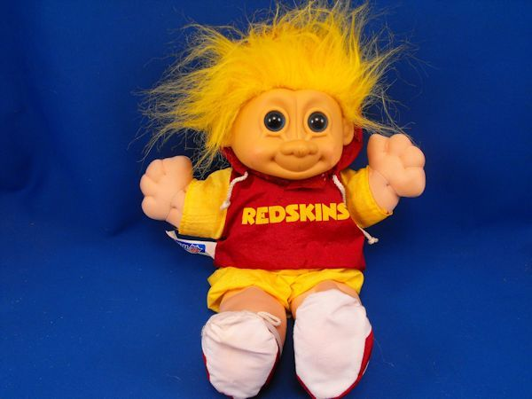 RUSS 37205 NFL Redskins Hoodie Outfit Troll 12 inch Doll