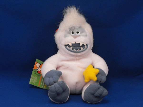 Stuffins 1998 the Island of Misfit Toys Abominable Snowman