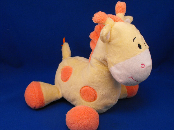 Commonwealth 2009 Lil Sweetez Large Yellow Orange Giraffe