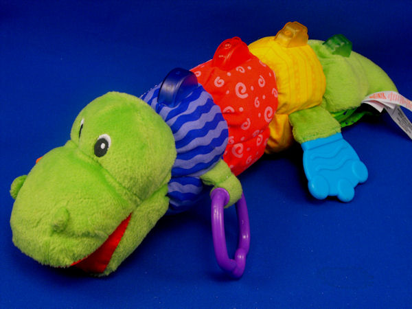 , Searching &#8211; KIDS II Bright Starts XL Languages Colors ALLIGATOR Lights Crinkle  <i>Top Priority</i>