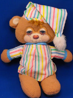 Fisher Price 1986 No. 1405 Flat TEDDY BEDDY BEAR