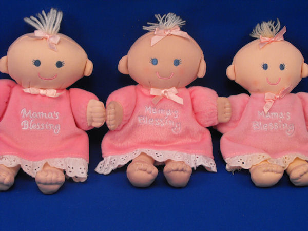 You need to rotate at least 3 backup lovies - picture of 3 identical dolls