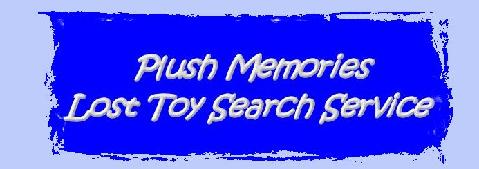 , Searching – GANZ White MY FIRST TEDDY BEAR with a BLUE HEART